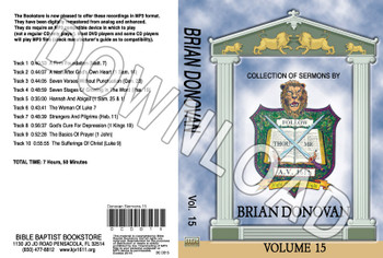 Brian Donovan: Sermons, Volume 15 - Downloadable MP3