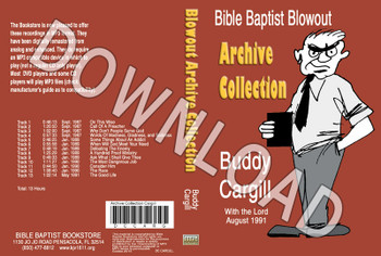 Buddy Cargill: Bible Baptist Blowout Archive - Downloadable MP3
