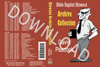 David Peacock: Bible Baptist Blowout Archive - Downloadable MP3