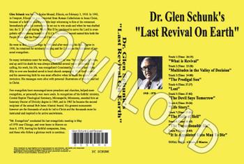 Glen Schunk: Last Revival on Earth - Downloadable MP3