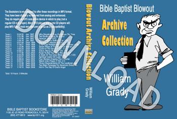 William Grady: Bible Baptist Blowout Archive - Downloadable MP3