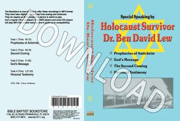 Holocaust Survivor - Dr. Ben David Lew - Downloadable MP3
