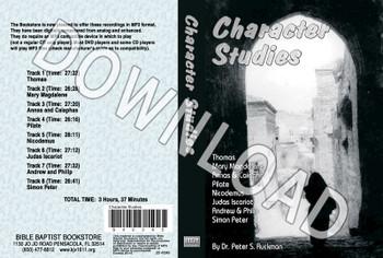Character Studies - Downloadable MP3
