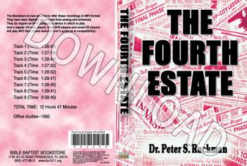 The Fourth Estate - Downloadable MP3