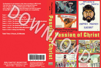 The Passion of Christ -  Downloadable MP3