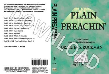 Plain Preachin' Volume 5 - Downloadable MP3