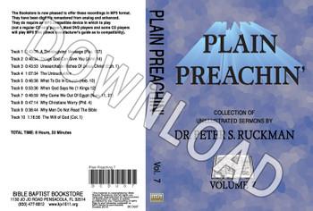 Plain Preachin' Volume 7 - Downloadable MP3