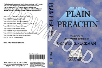 Plain Preachin' Volume 8 - Downloadable MP3