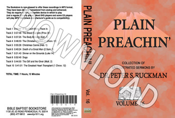 Plain Preachin' Volume 16 - Downloadable MP3