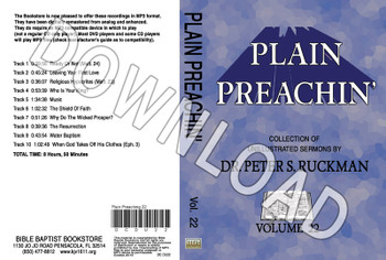 Plain Preachin' Volume 22 - Downloadable MP3