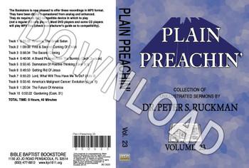 Plain Preachin' Volume 23 - Downloadable MP3