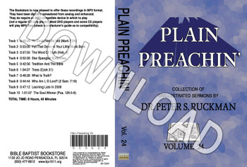 Plain Preachin' Volume 24 - Downloadable MP3