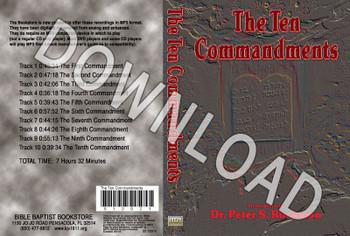 The Ten Commandments - Downloadable MP3