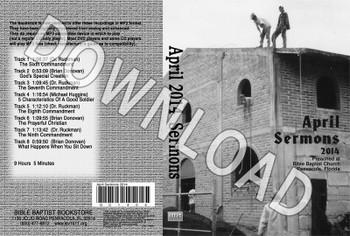 April 2014 Sermons - Downloadable MP3
