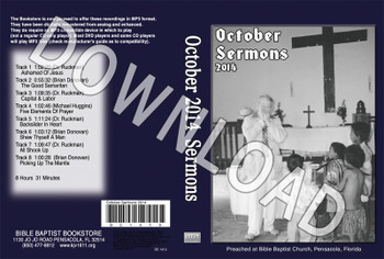 October 2014 Sermons - Downloadable MP3