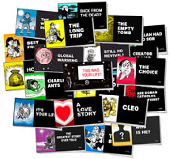 Chick Tract Assortment - 136 Tracts