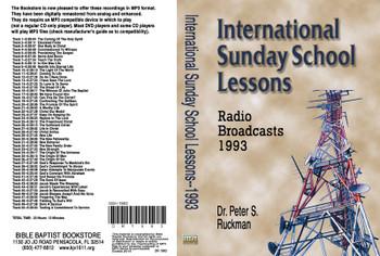 International Sunday School Lessons 1993 - MP3