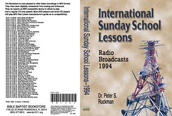 International Sunday School Lessons 1994 - MP3