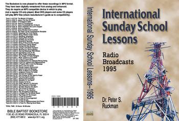 International Sunday School Lessons 1995 - MP3