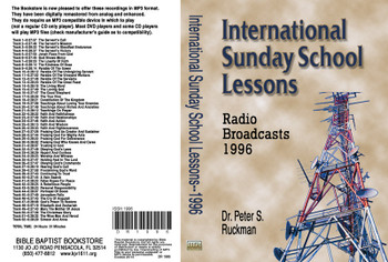 International Sunday School Lessons 1996 - MP3