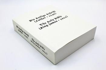 English and German: Bilingual Bible (1545)