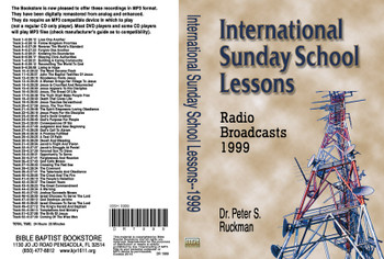 International Sunday School Lessons 1999 - MP3