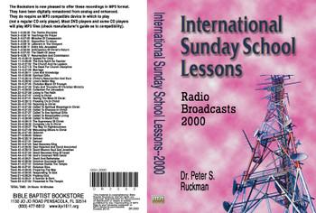 International Sunday School Lessons 2000 - MP3
