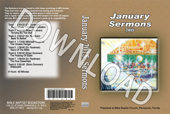January 2015 Sermons - Downloadable MP3
