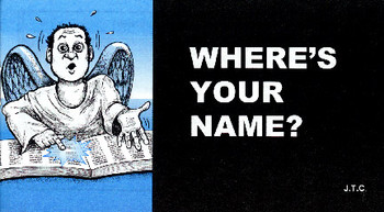 Where's Your Name? - Tract