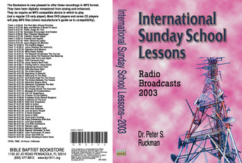 International Sunday School Lessons 2003 - MP3