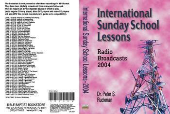 International Sunday School Lessons 2004 - MP3