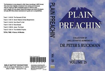Plain Preachin' Volume 25 - MP3