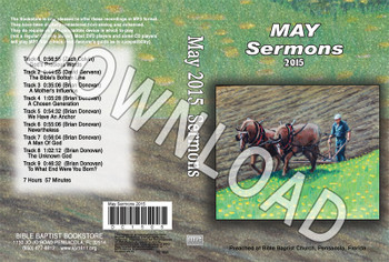 May 2015 Sermons - Downloadable MP3