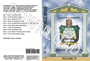 Brian Donovan: Sermons, Volume 37 - Downloadable MP3