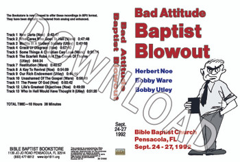 1992 September Blowout Sermons - Downloadable MP3