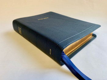 Allan Oxford Bible: Brevier Clarendon Wide Margin Reference Bible (Navy) #5WM NB