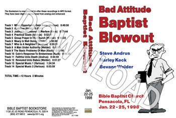 1998 January  Blowout Sermons - Downloadable MP3