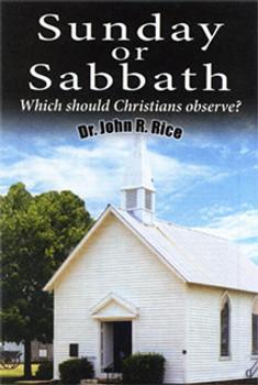 Sunday or Sabbath