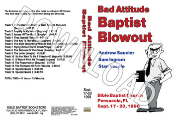 1998 September Blowout Sermons - Downloadable MP3
