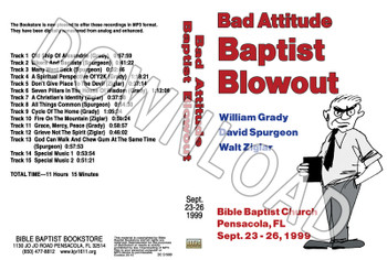 1999 September Blowout Sermons - Downloadable MP3