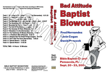 2001 September Blowout Sermons - Downloadable MP3
