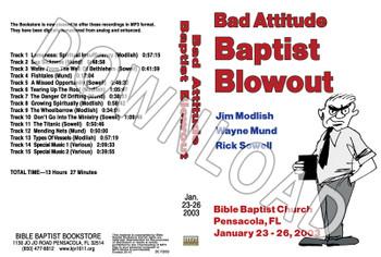 2003 January Blowout Sermons - Downloadable MP3