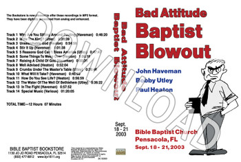 2003 September Blowout Sermons - Downloadable MP3