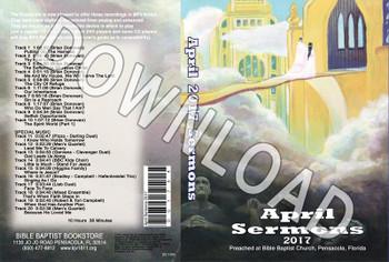 April 2017 Sermons - Downloadable MP3