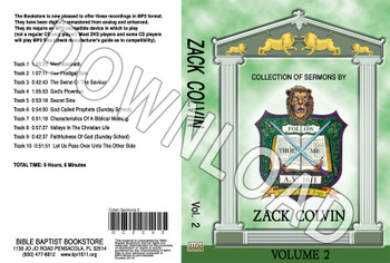 Zack Colvin: Sermons, Volume 2 - Downloadable MP3