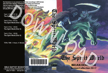 Brian Donovan: The Spirit World - Downloadable MP3