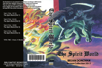 Brian Donovan: The Spirit World