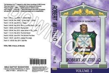 Robert Militello: Sermons, Volume 2 - Downloadable MP3