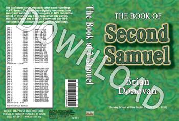 Brian Donovan: 2 Samuel - Downloadable MP3