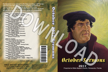 October 2017 Sermons - Downloadable MP3